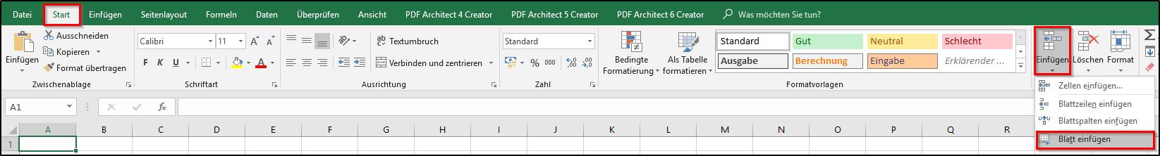 Excel: Umbennenen, Einfügen und Löschen eines Arbeitsblatts - Office ...