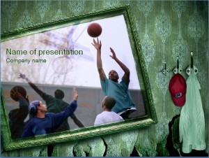 Basketball Präsentationsvorlage