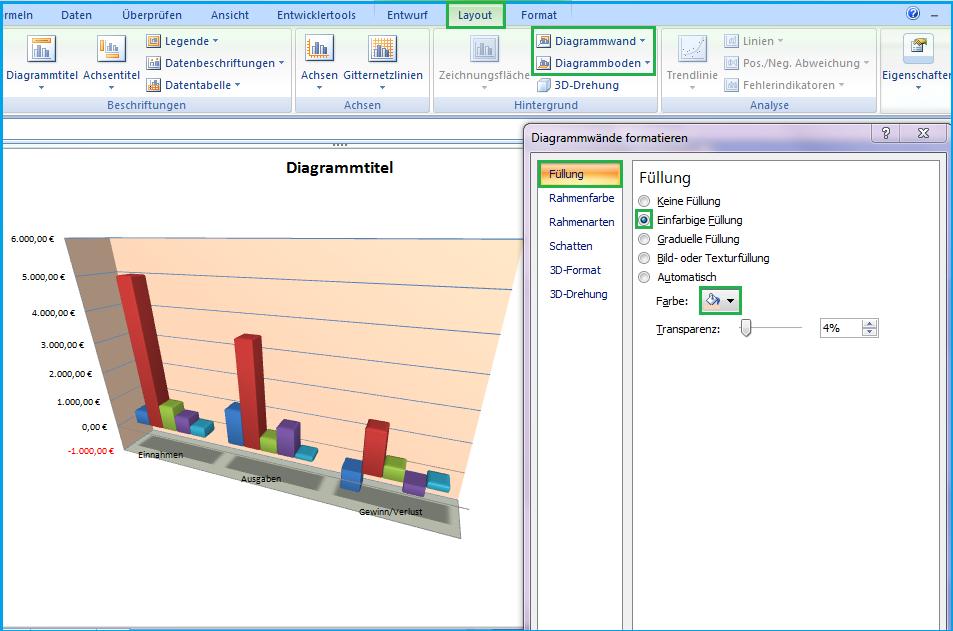 Diagramm in Excel erstellen und bearbeiten - Office-Lernen.com ...
