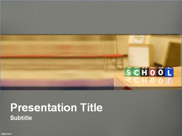 School Präsentationsvorlage