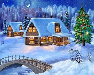 Schnee Hintergrundbild