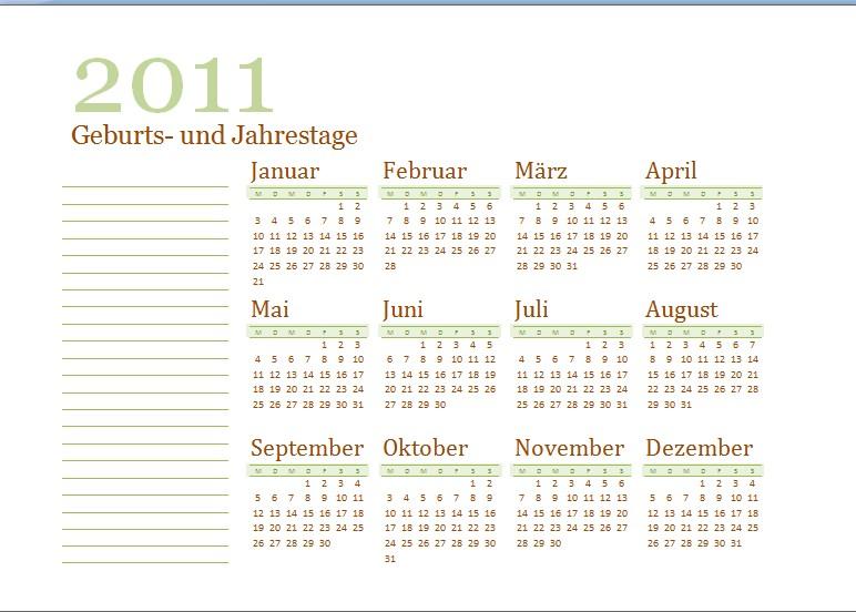 Kalender 2011 Zum Ausdrucken Kostenlos Pictures to pin on Pinterest
