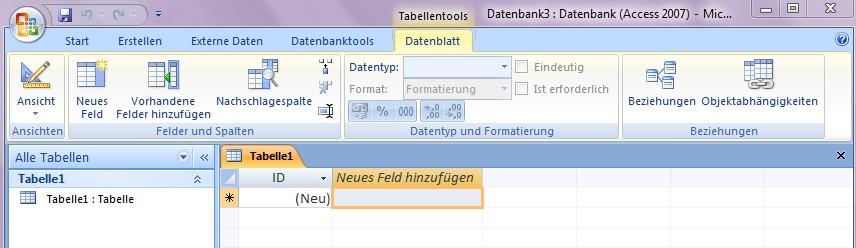 Access Datenbankvorlagen verwenden - Office-Lernen.com