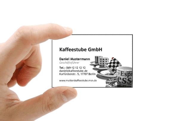 Kostenlose Visitenkarten Vorlagen Zum Herunterladen