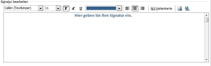 E Mail Signatur In Outlook Erstellen Office Lernen Com