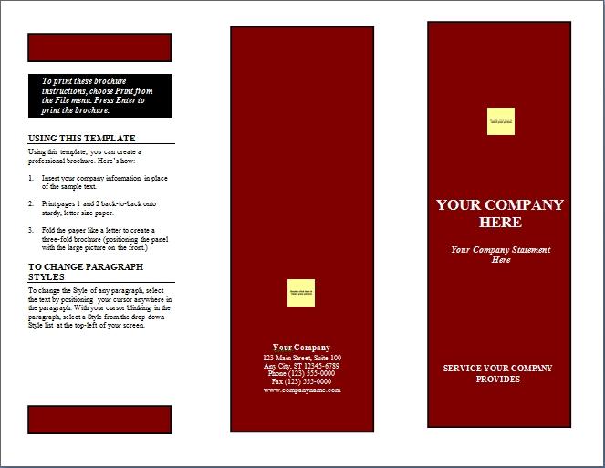 word faltblatt vorlagen zum herunterladen. Black Bedroom Furniture Sets. Home Design Ideas