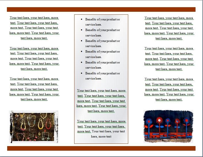 Brochure Maquette Modle Gratuit Vorlagen Kostenlosflyer Seite 1