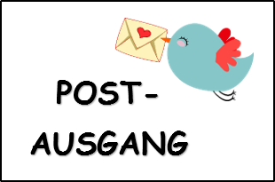 Postausgang Vogel