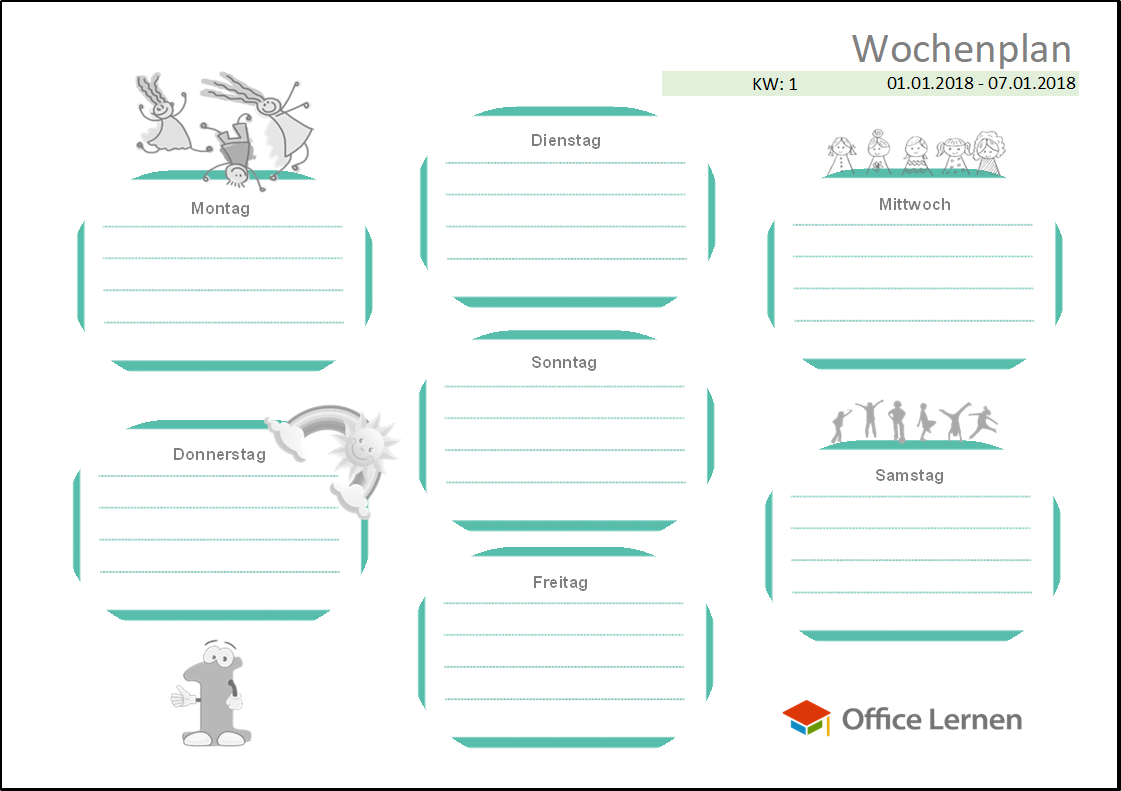 Word: Diverse Vorlagen für die Schule - Office-Lernen.com