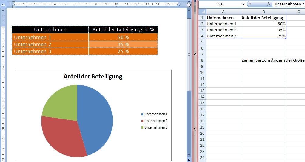 Diagramm in Word erstellen - Office-Lernen.com