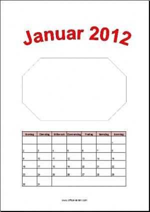 Bastelkalender 2012