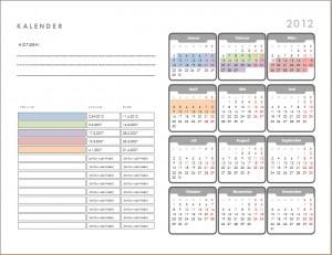 Terminkalender 2012