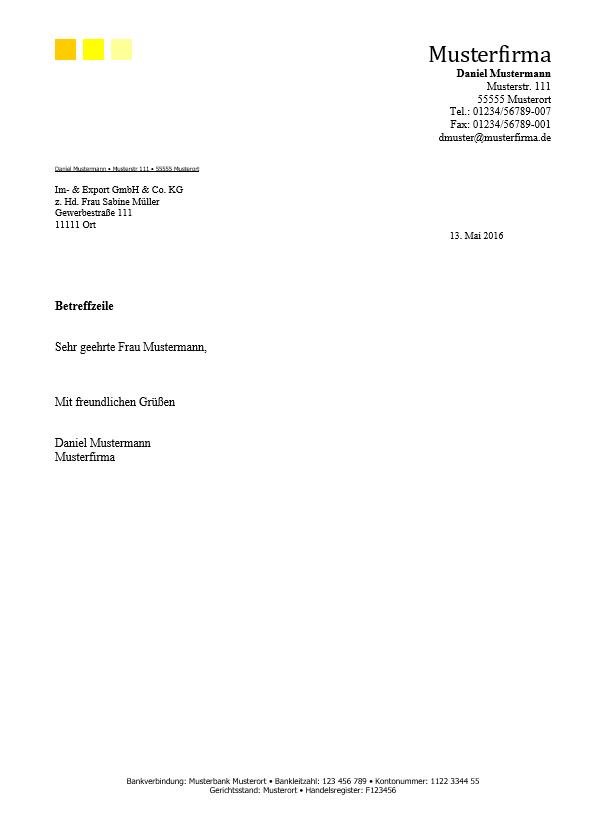Briefkopf Geschäftlich 08 Office Lernencom