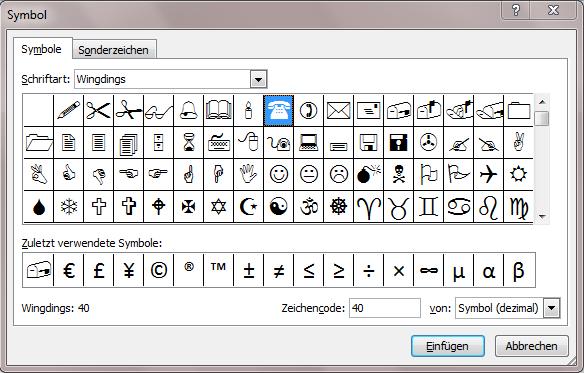 Symbole oder Sonderzeichen in Excel einfügen - Office-Lernen.com