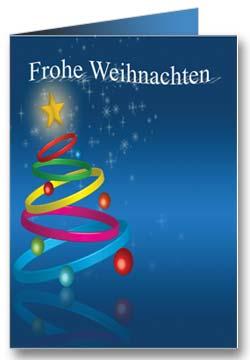 Tannenbaum Weihnachtsgrußkarte