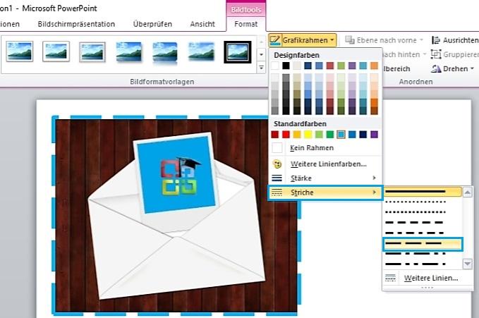 Bilder Zur Powerpoint Präsentation Einfügen Und Formatieren Office