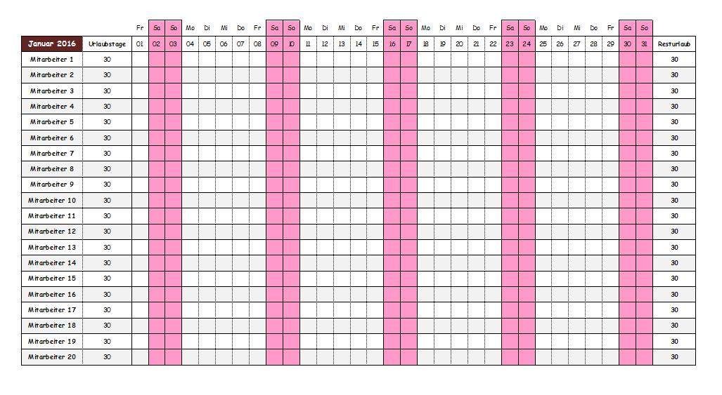 kalender drucken gratis