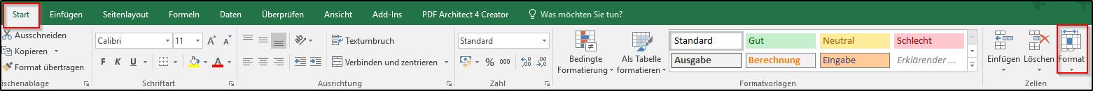 Excel: Arbeitsblatt, Zeilen und Spalten ein-und ausblenden - Office ...