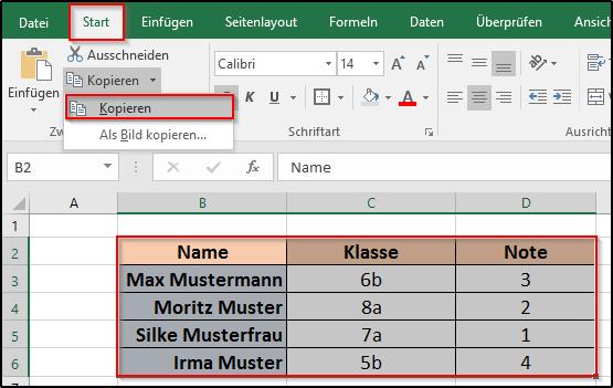 Excel Name Arbeitsblatt In Zelle Einfügen : Wie kann man in excel spalten und zeilen vertauschen