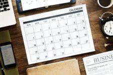 Kostenlose Kalendervorlagen 2019