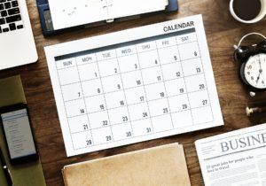 Kostenlose Kalendervorlagen 2020