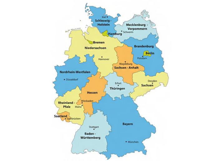 Fronleichnam Bundesland
