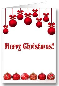 Weihnachtskarte-Rote-Kugeln