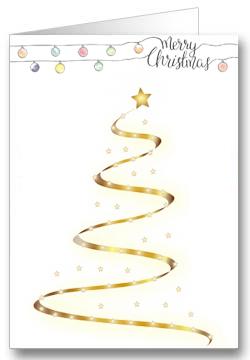 Weihnachtskarte-Weihnachtsbaum