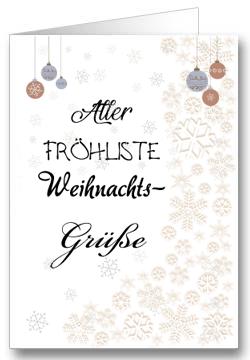 Weihnachtskarte-Weihnachtsgrüße