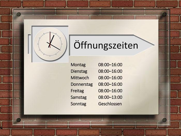 Word: Kostenlose Schilder Vorlagen - Office-Lernen.com