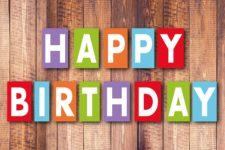 Word: Kostenlose Geburtstagskarten Vorlagen für Erwachsene und Kinder