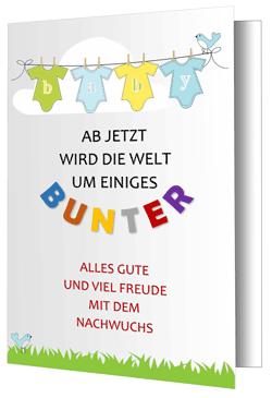 Word Kostenlose Glückwunschkarten Zur Geburt Office Lernen Com