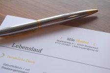 Professionelle Bewerbungsvorlagen mit Anschreiben, Deckblatt und Lebenslauf