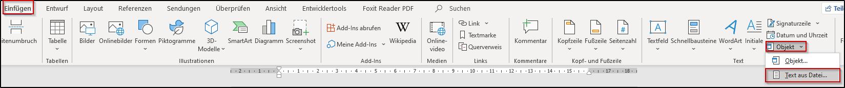 Mehrere Word Dokumente Zusammenfügen Office Lernencom