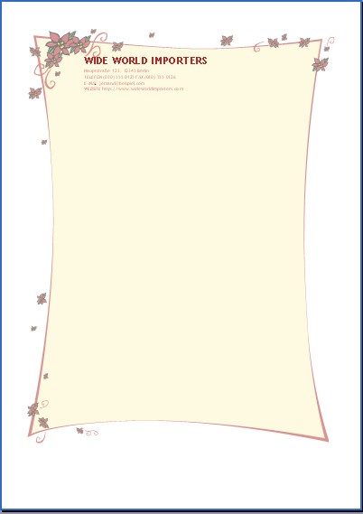 Briefvorlage für besondere anlässe