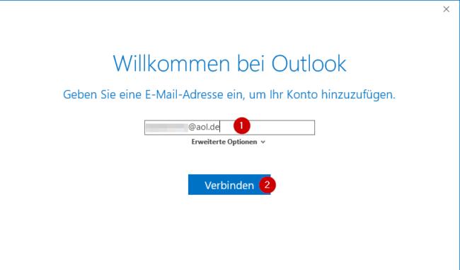 Email eingeben