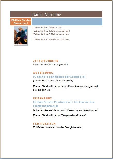 Galathea Lebenslauf - Office-Lernen.com
