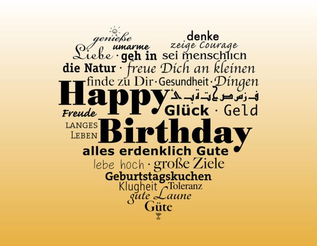 Happy Birthday Herz