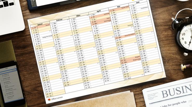 Kalenderwochen Wochenkalender 2021 Zum Ausdrucken ...