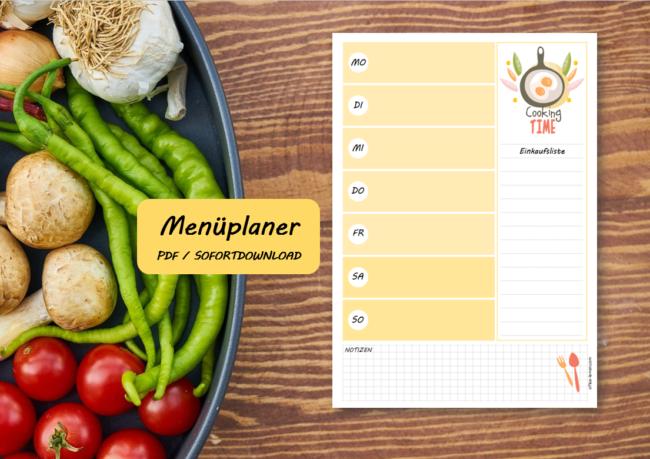 Menueplaner-Cooking-time