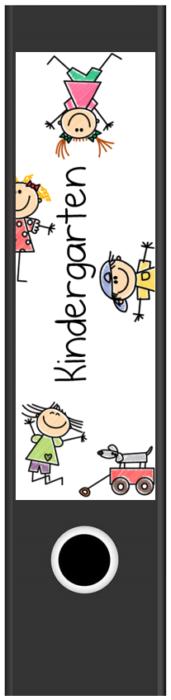 Ordnerrücken Breit Kindergarten