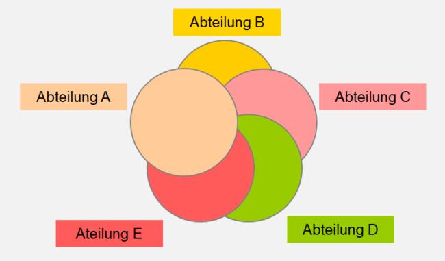 Organigramm-Bunte-Kreise