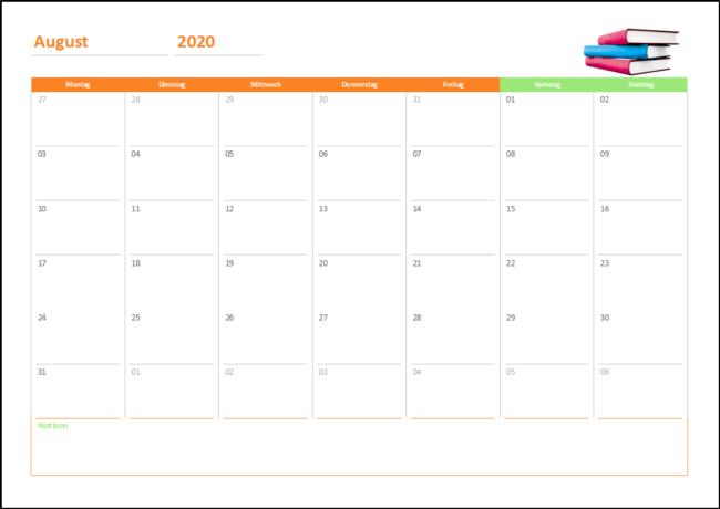 Schulkalender-Buch-2020-2021
