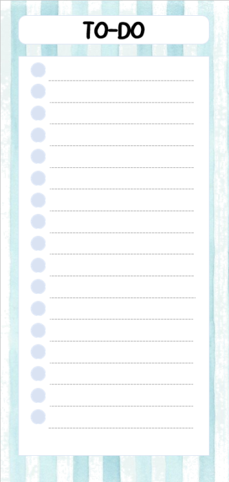TO-DO Liste Linien