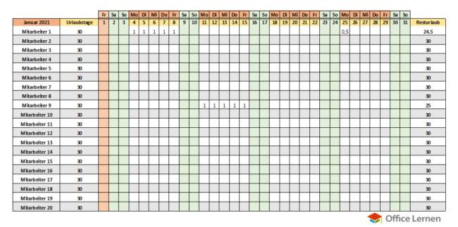 Kostenlose Kalendervorlagen 2021 Fur Word Und Excel Office Lernen Com