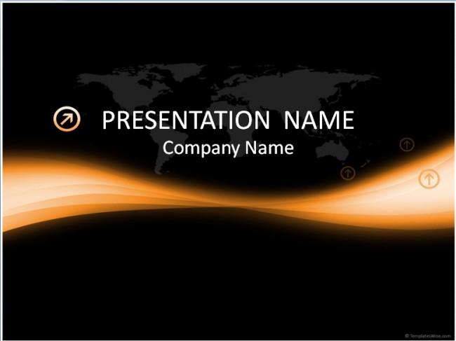 World Präsentationsvorlage