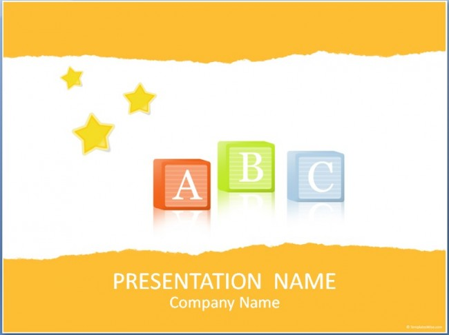 ABC Präsentationsvorlage