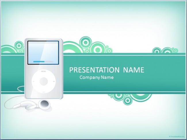 Musik Präsentationsvorlage