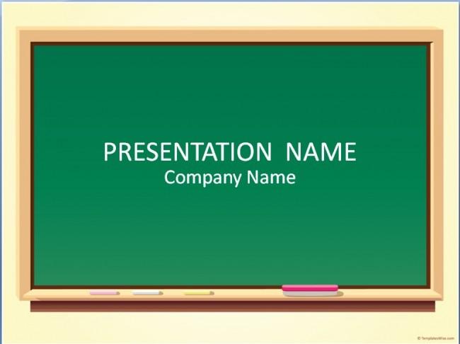 Tafel Präsentationsvorlage