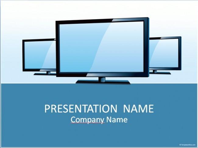 TV Präsentationsvorlage